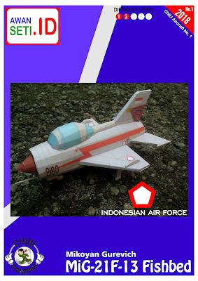 Image of Chibi MiG-21F-13 Fishbed (AURI)