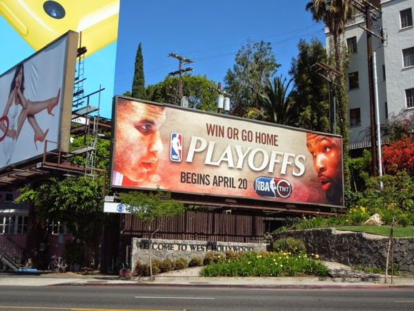 NBA Playoffs 2014 billboard