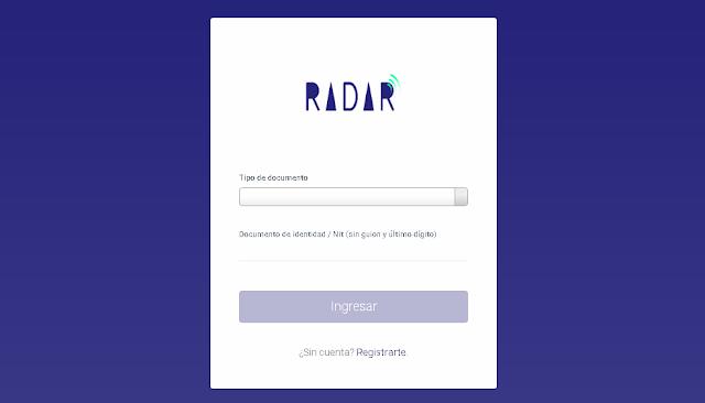 """Radar es una iniciativa de """"Innovación Cultural"""", un aplicativo web en donde podrás hacer un diagnóstico  bastante acertado del estado de sostenibilidad de tu proyecto cultural. Economía, Educación, Patrimonio, Diversidad, Creatividad, Comunicación, Nuevas TIC y  Cohesión Social"""