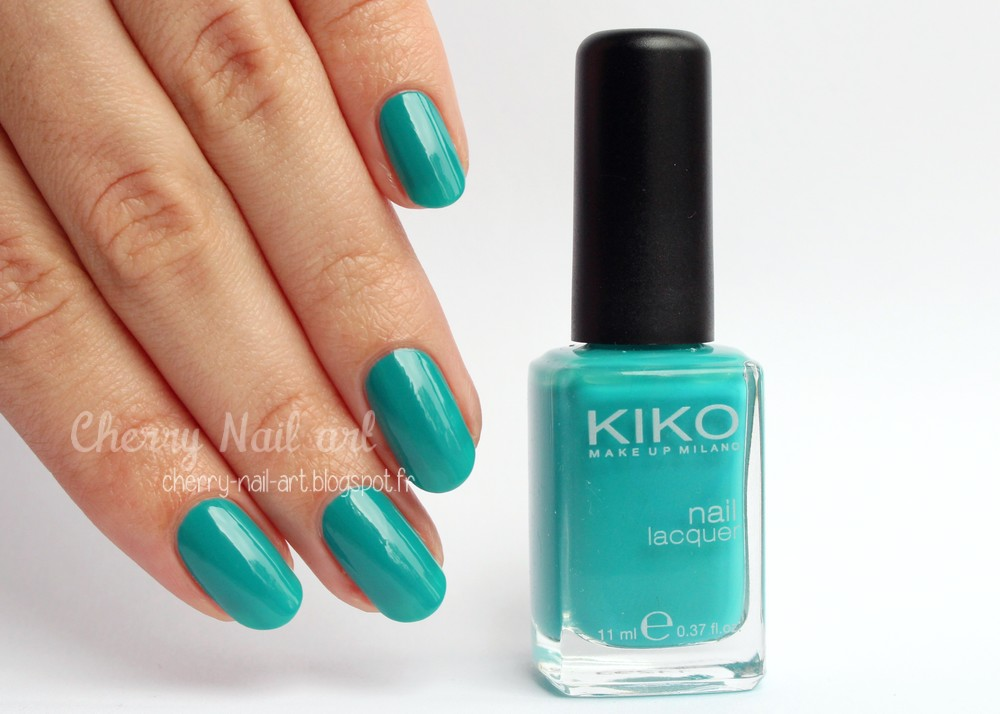 vernis kiko 342 sea green