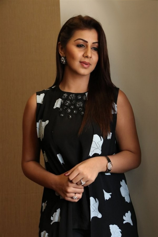 Actress Nikki Galrani at Hara Hara Mahadevaki Press Meet