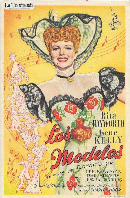 Las Modelos - Programa de Cine - Rita Hayworth - Gene Kelly