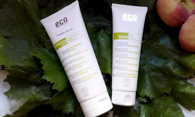 Crema de manos y loción corporal de Eco Cosmetics
