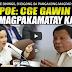 GRACE POE SININGIL SI DIGONG SA PANGAKONG MAGPAPAKAM4TAY PARA SA BAYAN!