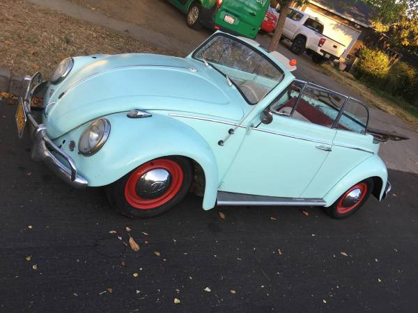 1960 VW Beetle Convertible