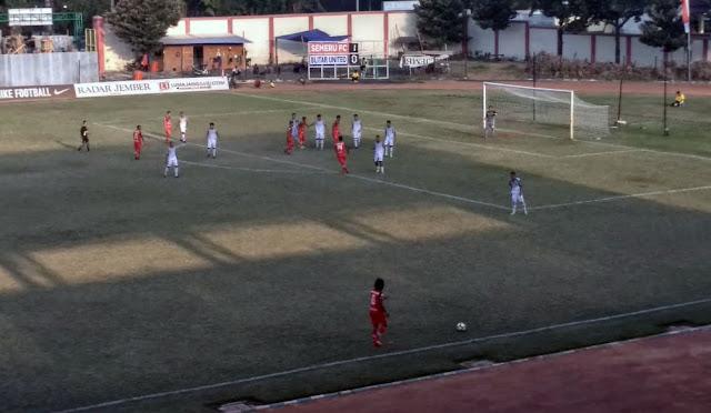 PertandinganSemeru FC vsBlitar United