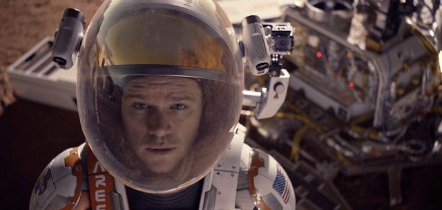 Astronautul Mark Watney izolat pe Marte