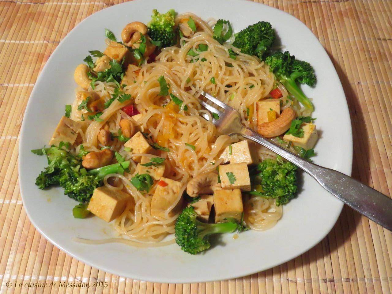 la cuisine de messidor tofu po l l orange salade de. Black Bedroom Furniture Sets. Home Design Ideas