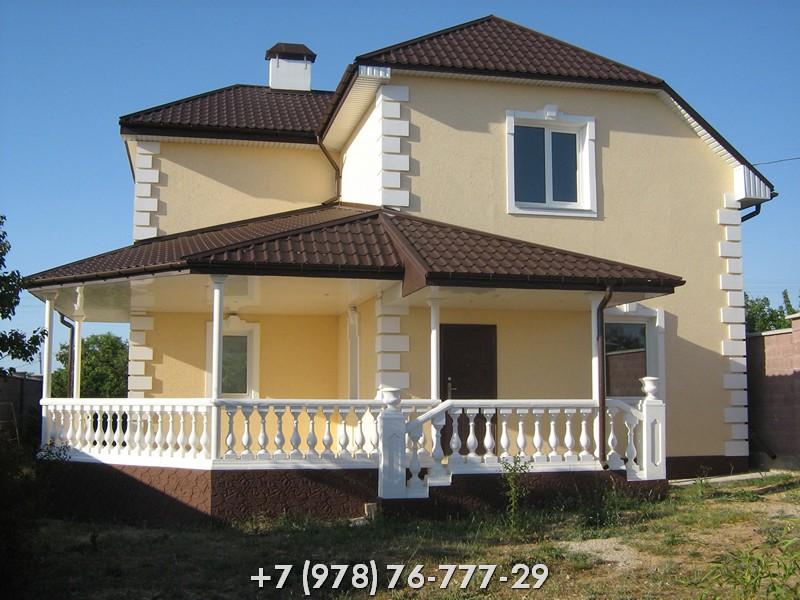 Дома из ракушки в Крыму