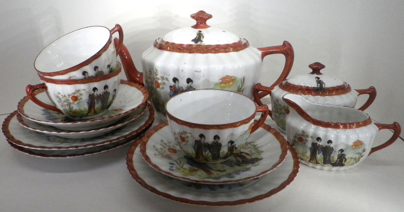 C.H.Tuppack (Tiefenfurt/Parowa PL): Teetasse 8,8 x 5,3 cm
