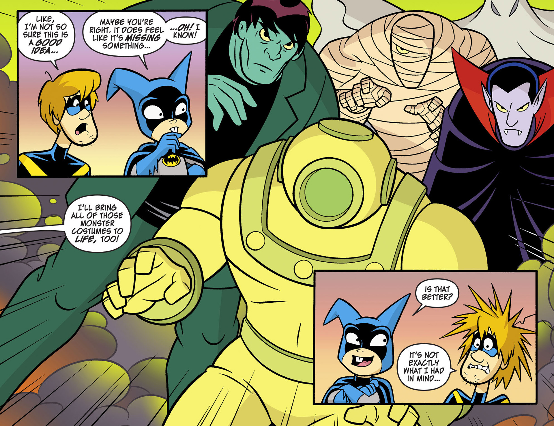 Read online Scooby-Doo! Team-Up comic -  Issue #5 - 18