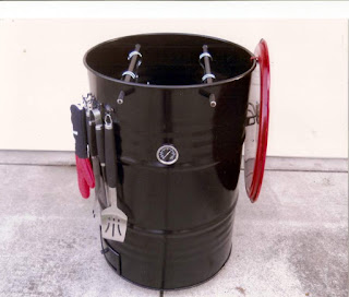 55 gallon smoker drum