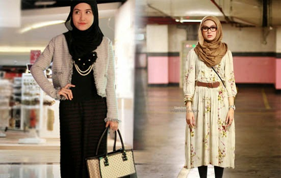 Gaya Jilbab untuk Wanita Karir