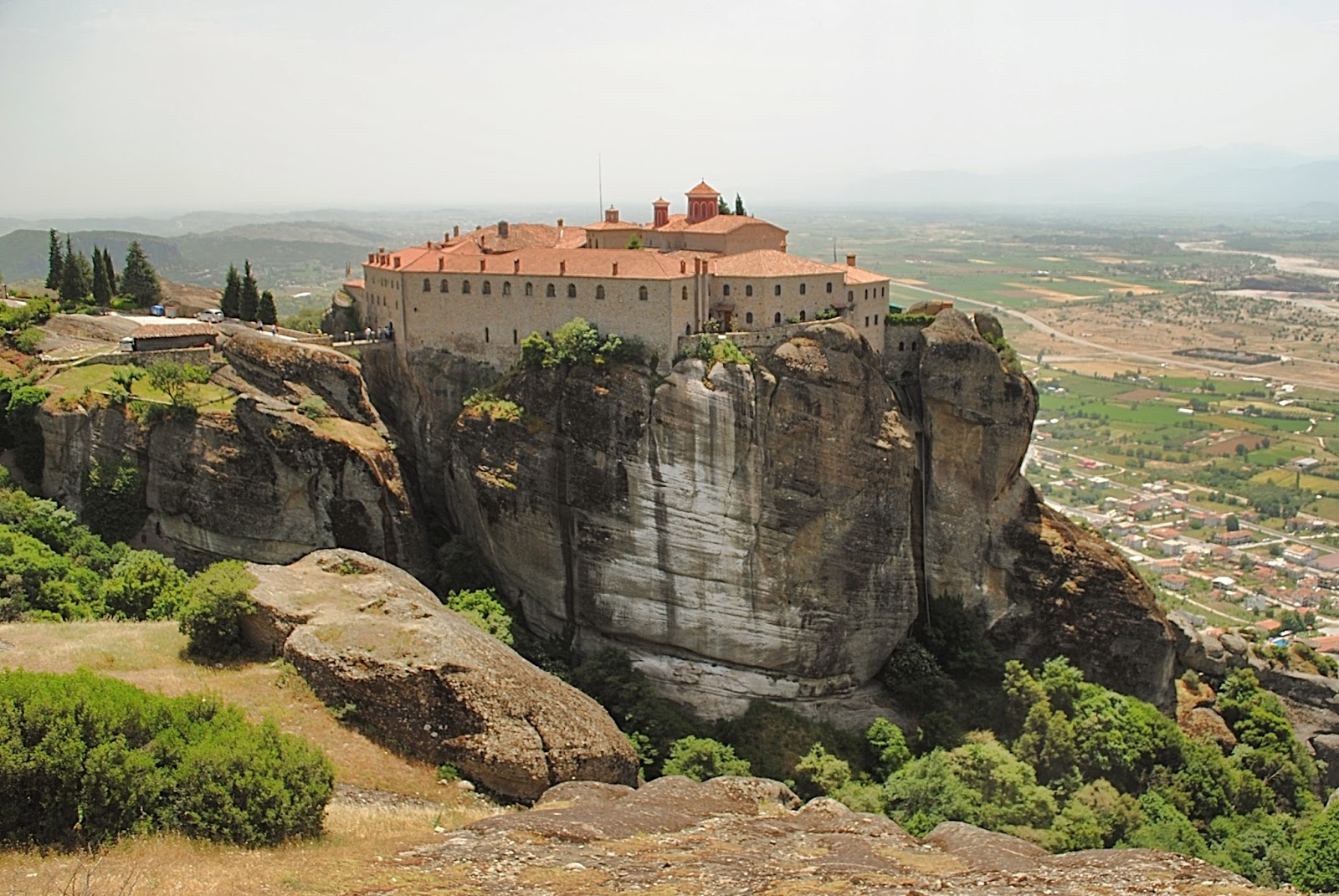 Meteora Cliffs Monastery In Greece Most Beautiful Houses