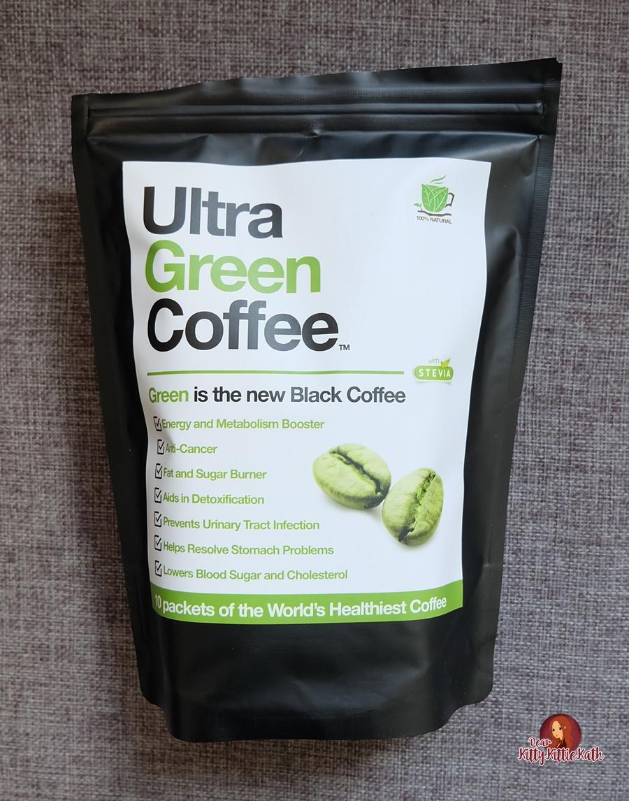 Product Review Ultra Green Coffee Dear Kitty Kittie Kath Top