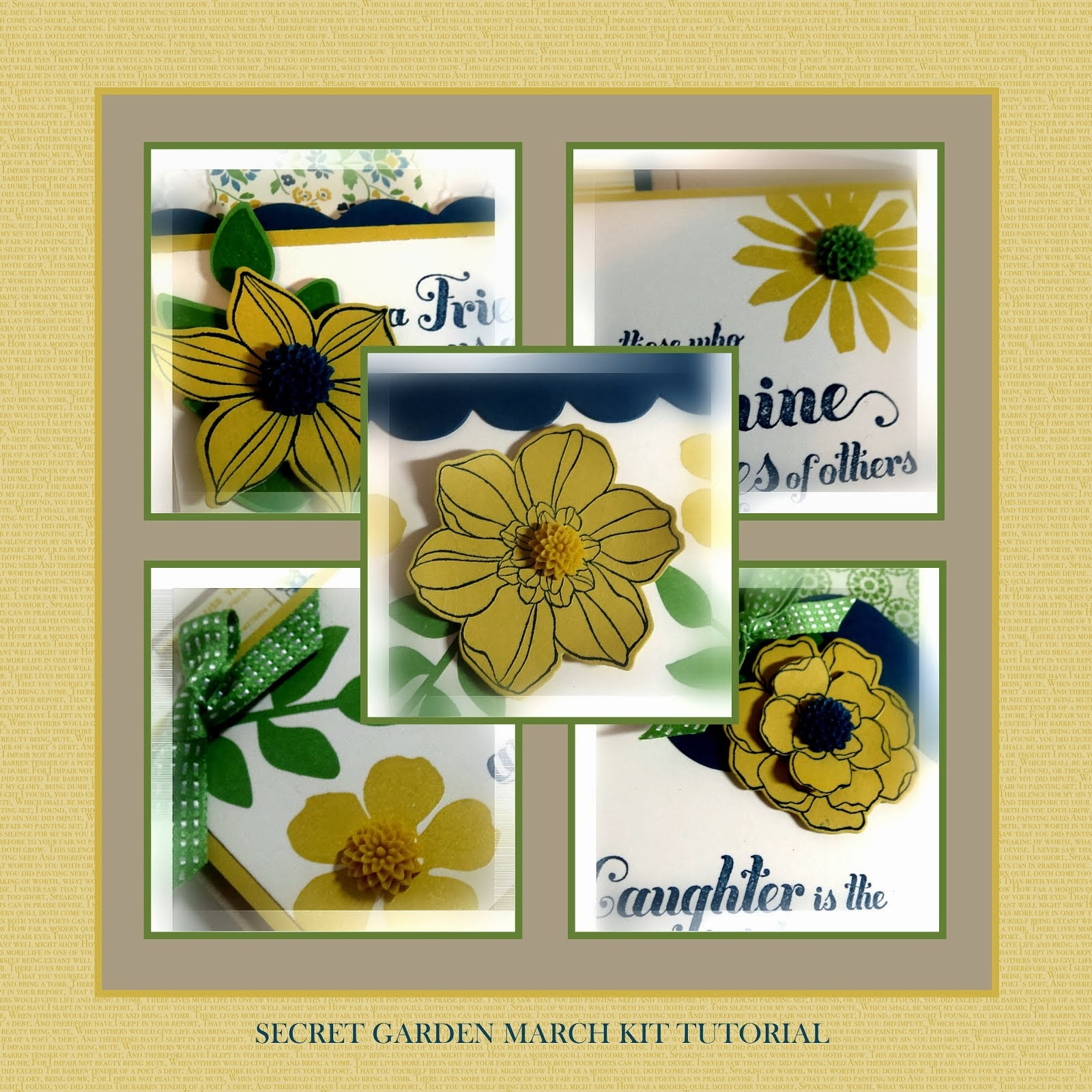 Secret Garden March Kit Tutorial