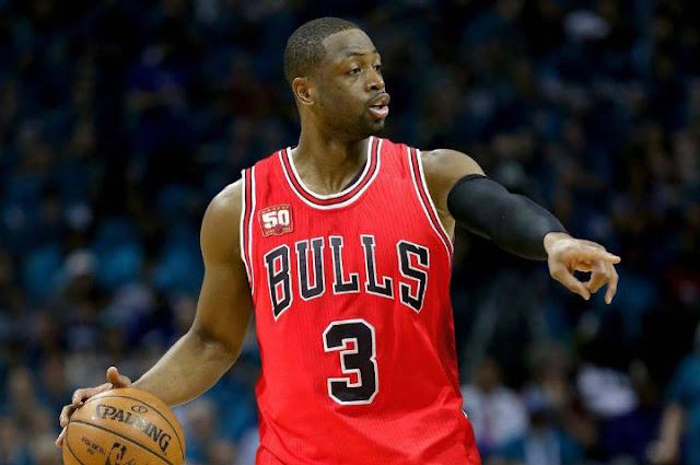 Dwyane Wade sous le maillot de Chicago
