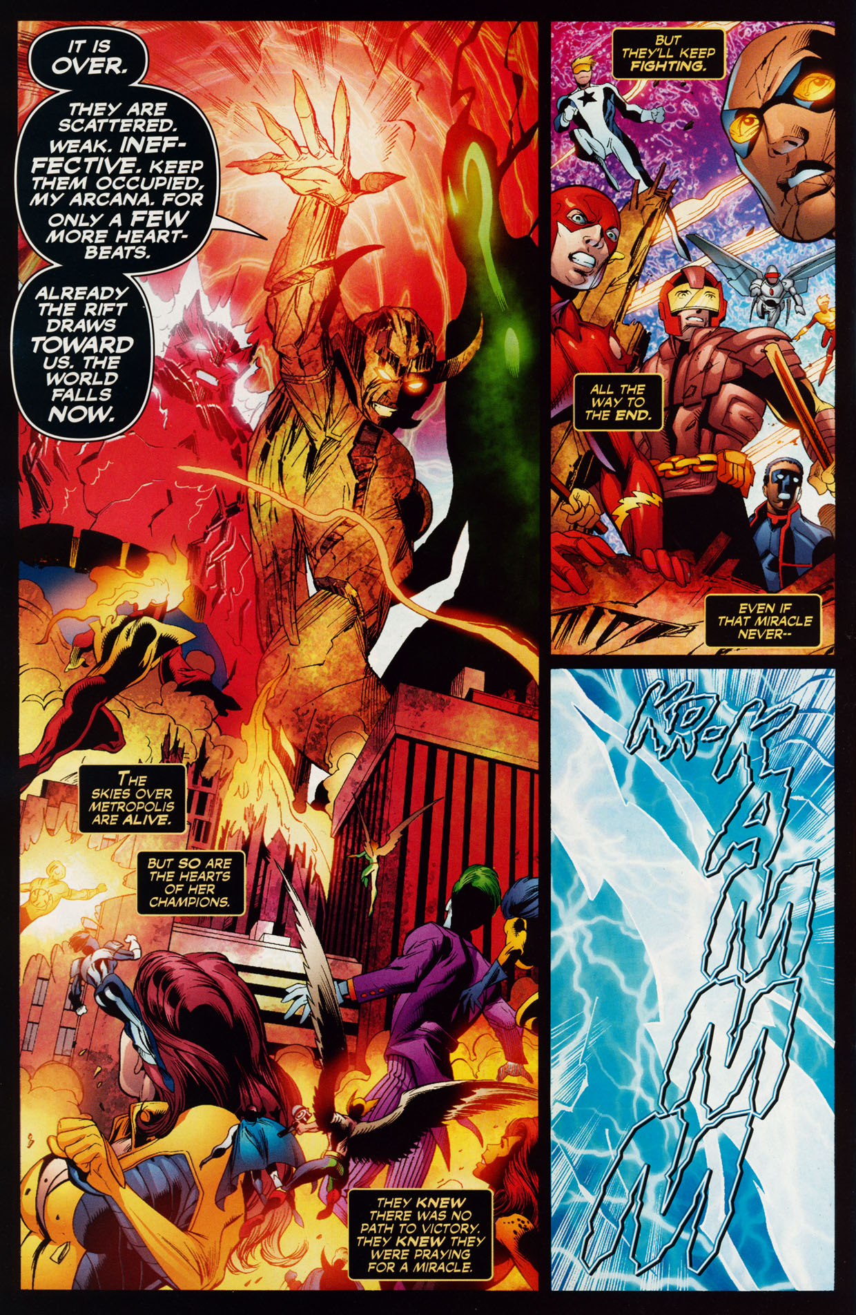 Read online Trinity (2008) comic -  Issue #39 - 33