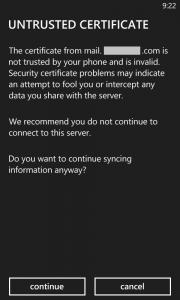 Cara Setting Email Hosting Pada Windows Phone 5