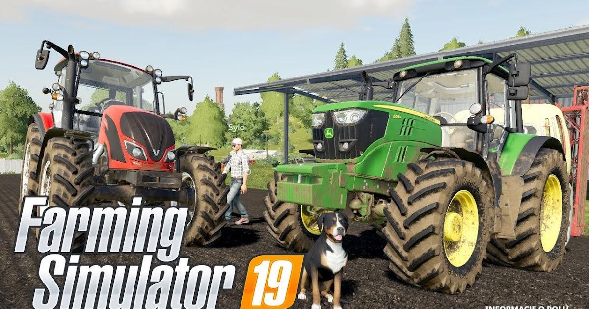 تحميل لعبة farming simulator 19