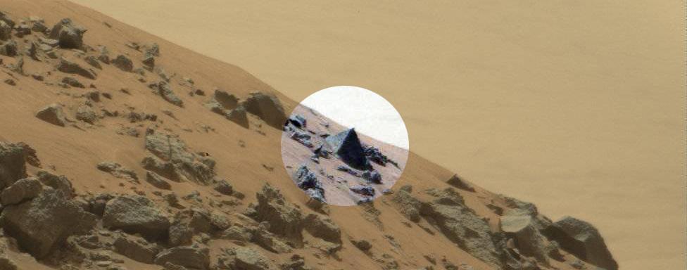 Nasa's Curiosity Rover Discovered Pyramid On Mars - UFO ...
