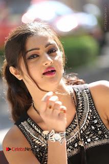Actress Poojitha Pallavi Naidu Stills in Black Short Dress at Inkenti Nuvve Cheppu Movie Platinum Disc Function  0157.JPG