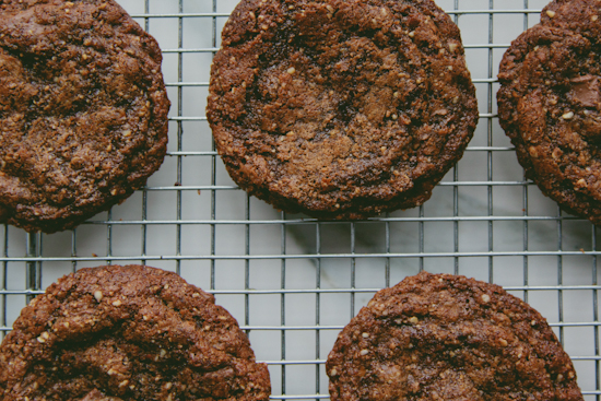flourless hazelnut butter cookies
