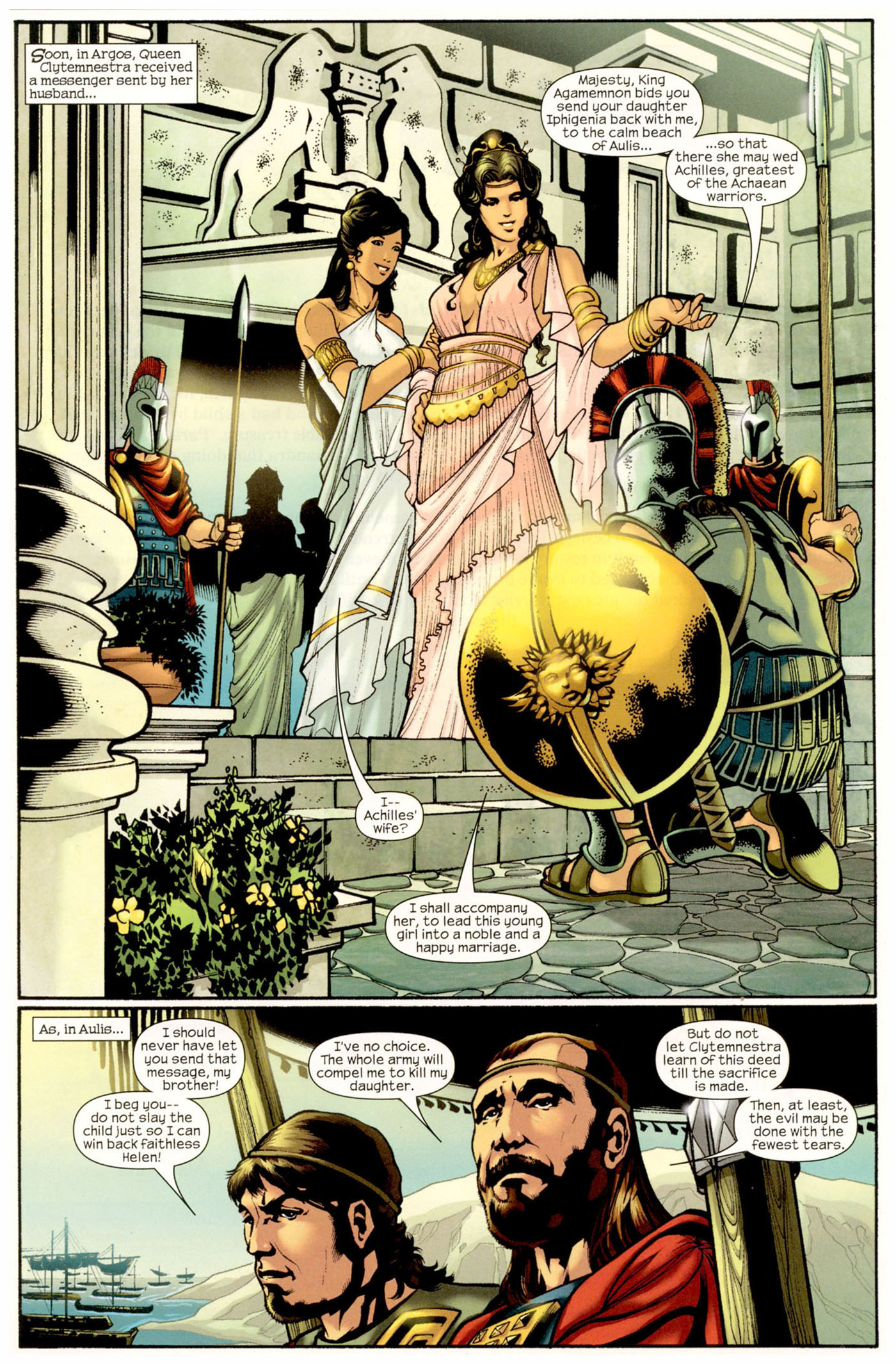 Read online Trojan War comic -  Issue #2 - 3