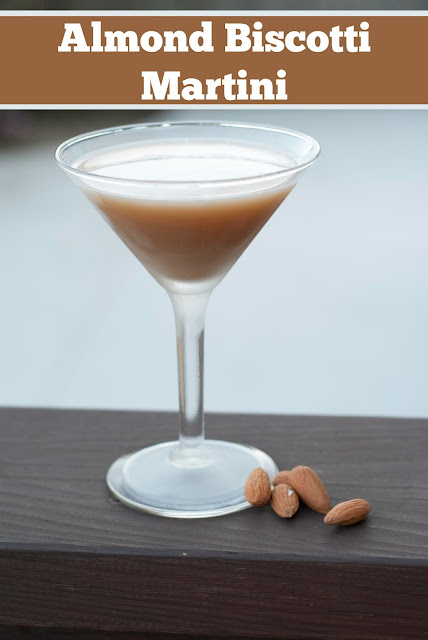 Almond Biscotti Martini, Almond Biscotti, Biscotti, vanilla vodka, vodka, amaretto, coffee liqueur, coffee milk, Almond Biscotti photo, Almond Biscotti picture, Almond Biscotti image