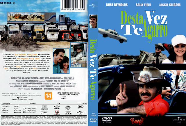 Capa DVD Desta Vez Te Agarro