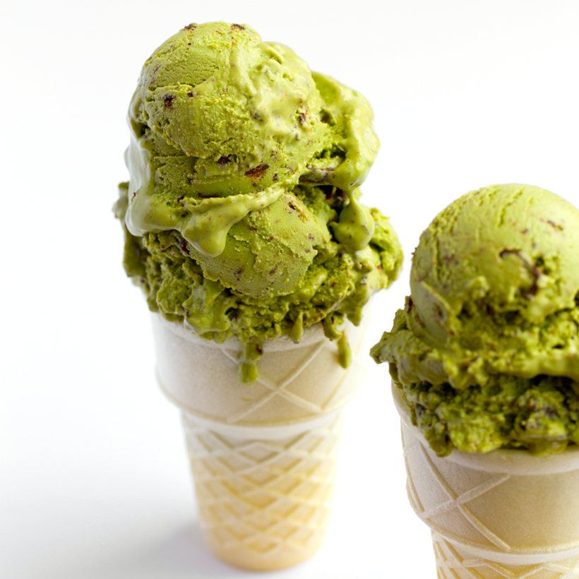 Mint Chip Matcha Vegan Ice Cream