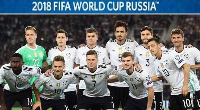 Hasil Jerman vs Saudi Arabia Skor Akhir 2-1 (Friendly Match 09 Juni 2018)