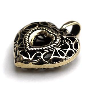 купить подарок в виде сердца подвеска на шею сердце кулон сердце объемное