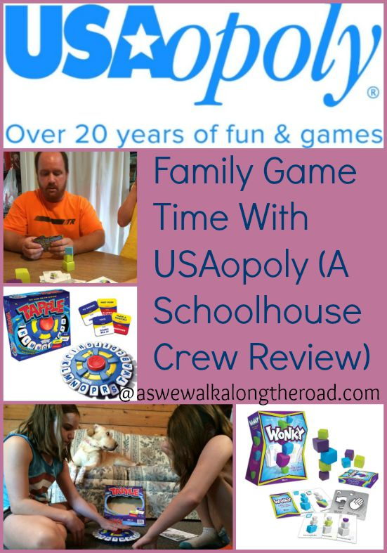 Review of fun games for kids from USAopoly