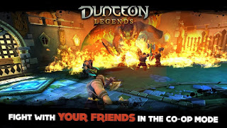 Dungeon Legends Apk v1.75 Mod (High Damage + Mana + No Skill CD) Terbaru Juli 2016
