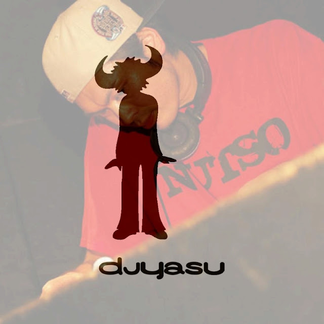 Jamiromakerを使って作ったDJ-YASUの写真です。