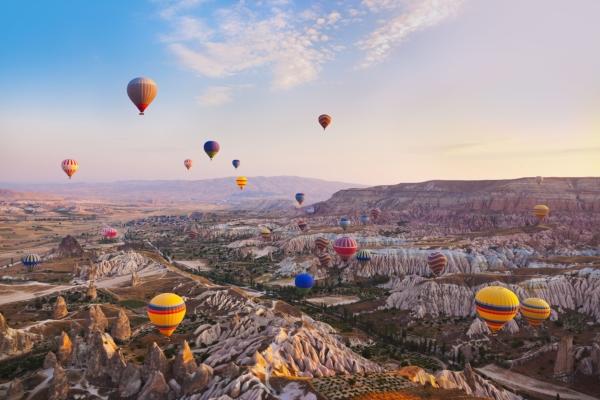 Cappadocia - plimbare cu baloanele
