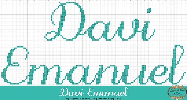 Nome Davi Emanuel em Ponto Cruz