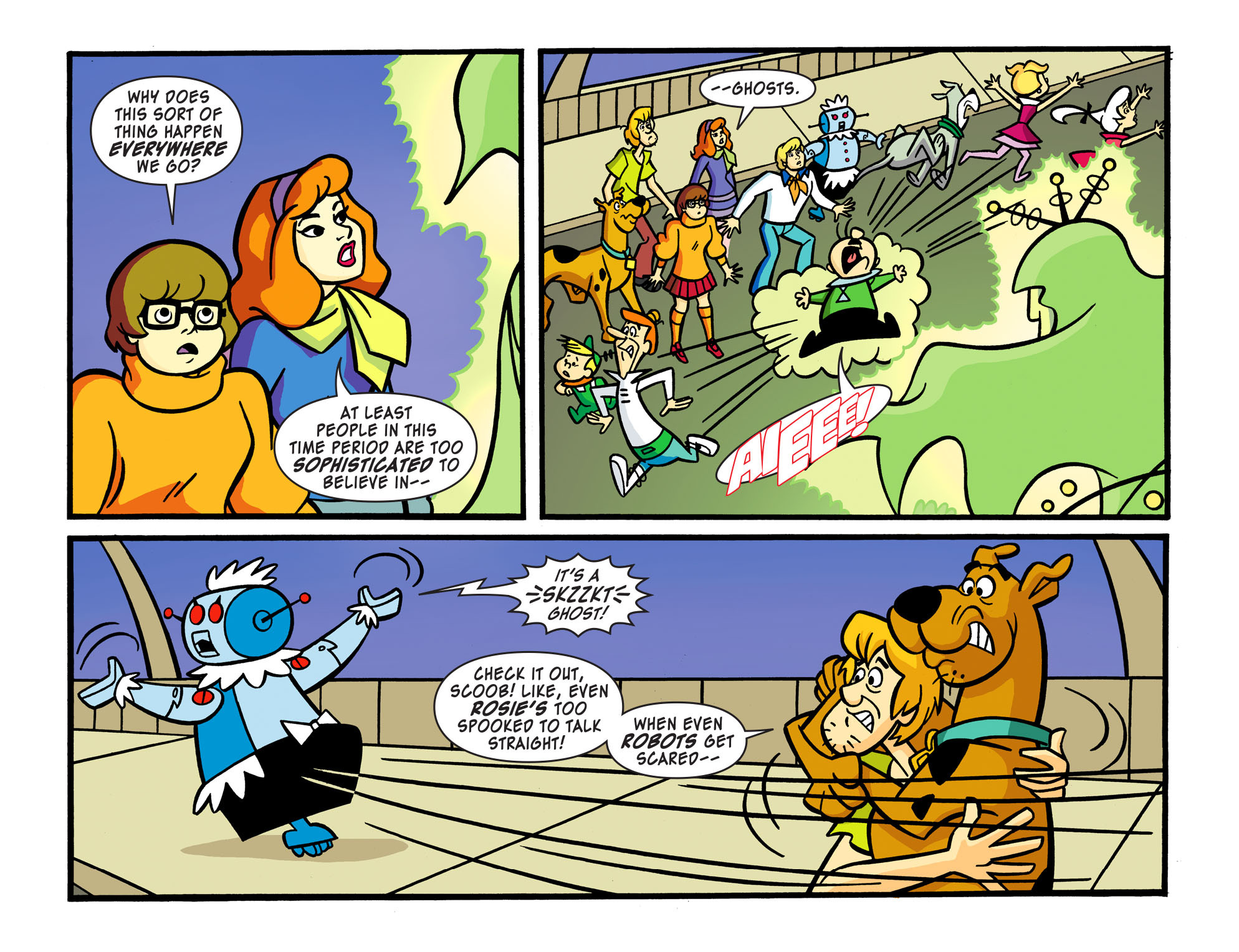 Read online Scooby-Doo! Team-Up comic -  Issue #15 - 18