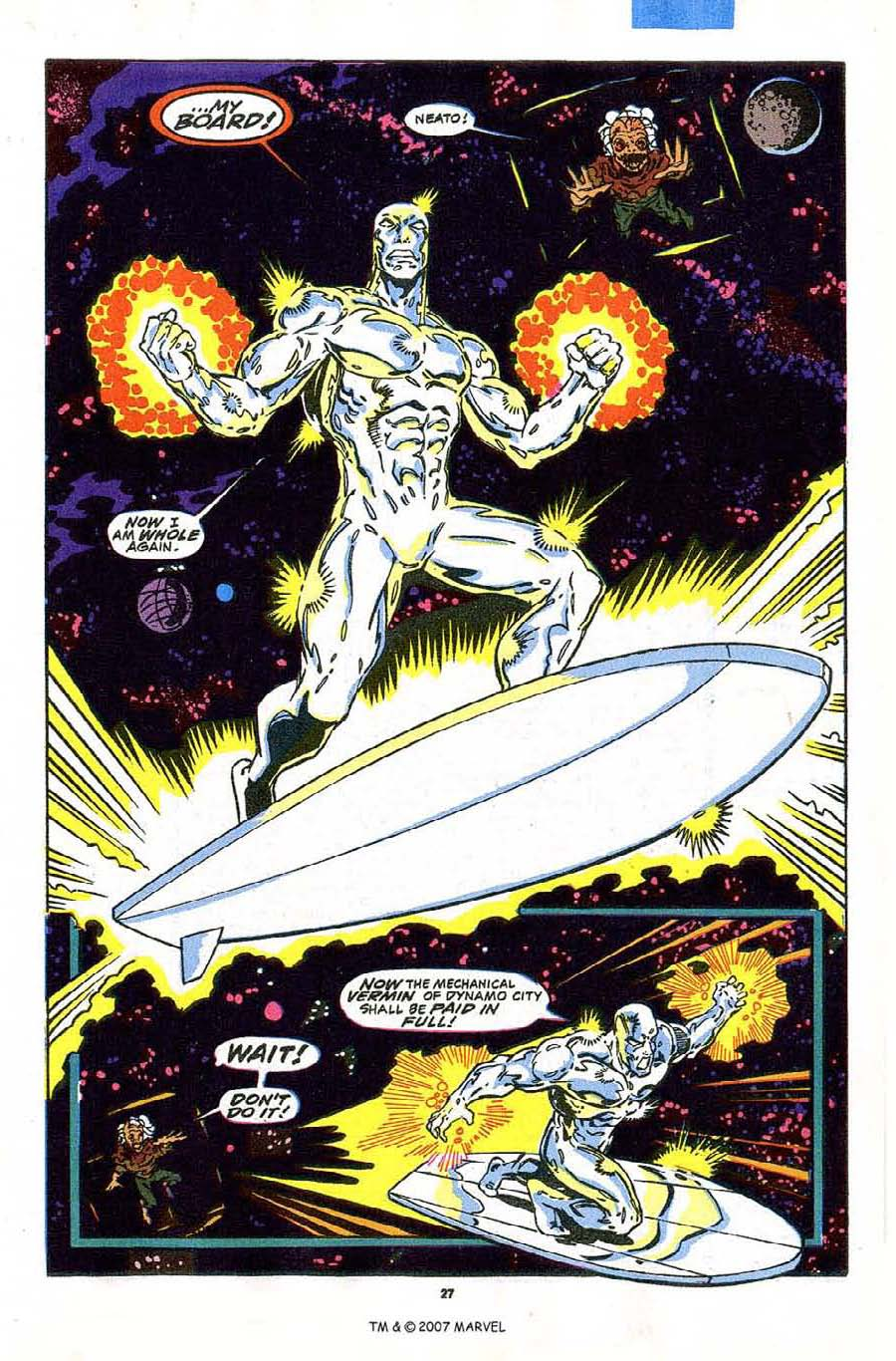 Read online Silver Surfer (1987) comic -  Issue #43 - 29