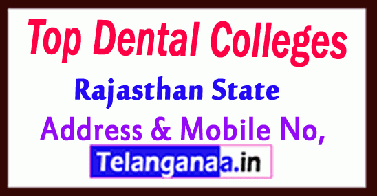 Top Dental Colleges in Rajasthan