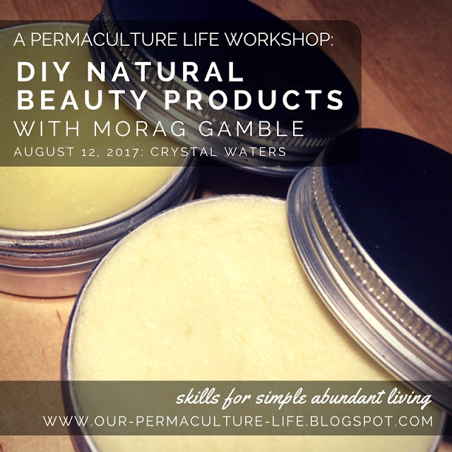 August 12: DIY Natural Beauty Products