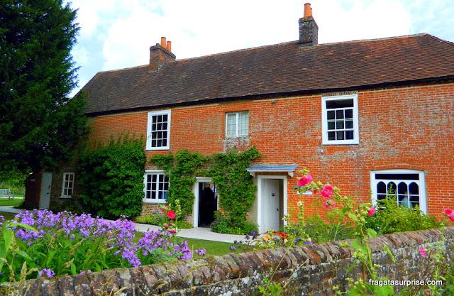 Chalé onde Jane Austen viveu seus últimos anos