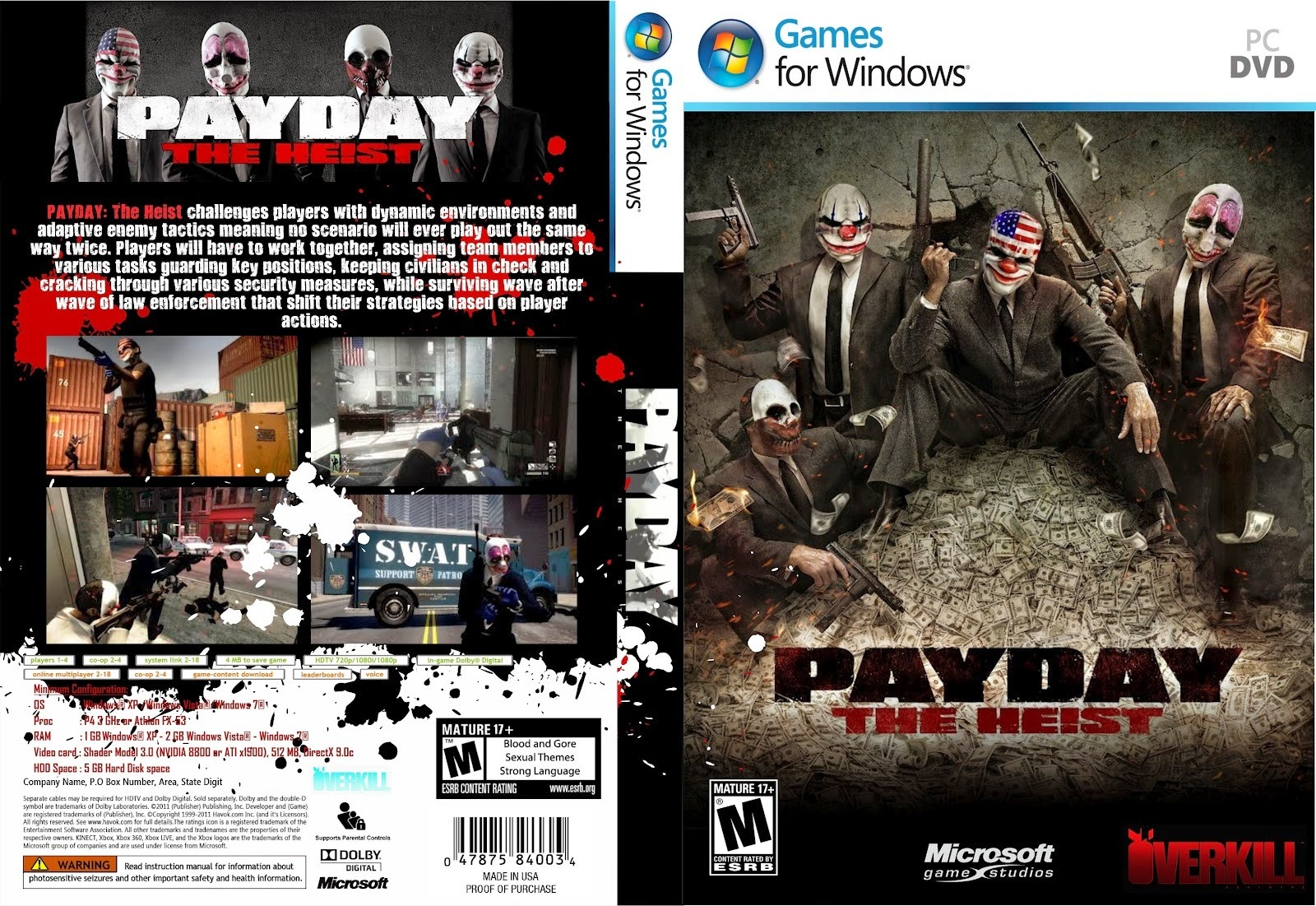 Payday The Heist Free Download FULL Version PC Game