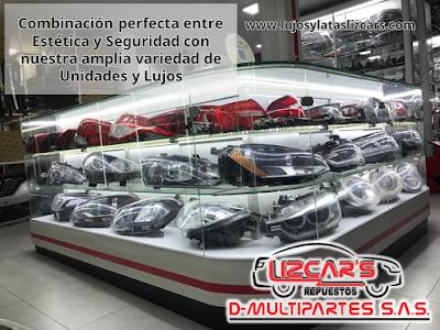 Lujos para carro Lizcars