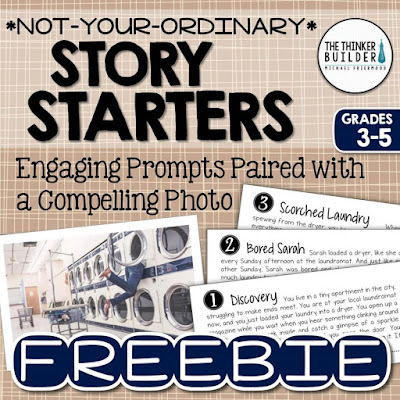 https://www.teacherspayteachers.com/Product/FREEBIE-Story-Starters-Not-Your-Ordinary-Writing-Prompts-1941402