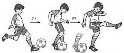 teknik terbaik menendang bola