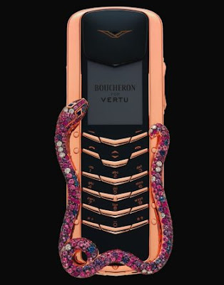 Teléfon celular exótico y diferente