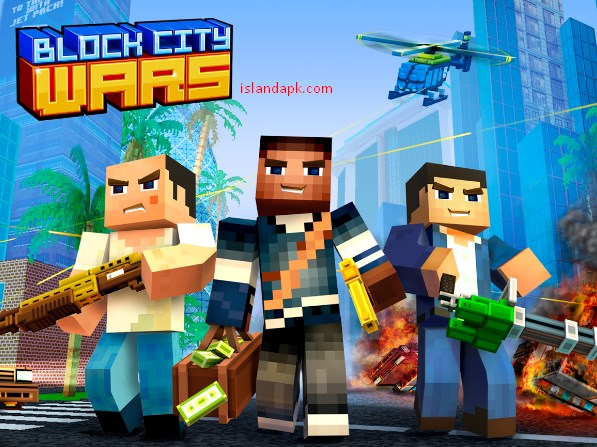 Download Block City Wars v6.4.1 Mod Apk+Data Obb (unlimited money)