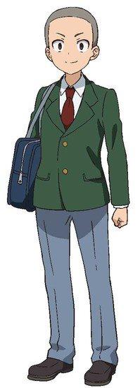 Kazuki Matsunaga como Tanishi de la historia Mashima-san wa Eroi